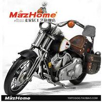 哈雷戴维森 1922年摩托车模型 家居摆件 铁艺收藏 礼品 铁皮摆件 价格:198.00