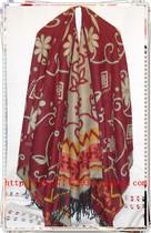 巴基斯坦风开口披风,羊毛保暖首选、180*140加大加厚斗篷披肩 价格:59.00