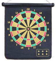 天猫正品促销专业儿童双面磁性飞标盘飞镖盘套装靶送6玫飞镖针 价格:28.00