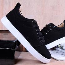 新款时尚低帮帆布鞋 休闲 板鞋 韩版潮流休闲鞋 复古滑板鞋男鞋 价格:36.00