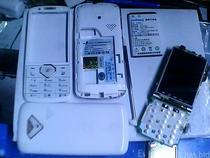 金鹏CV320原装液晶 显示屏 屏幕 机壳 前壳 按键 后盖 电池 喇叭 价格:10.00