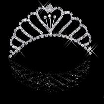 新娘皇冠 水钻饰品皇冠 新娘头饰 结婚盘发用品 新娘王冠 价格:18.00