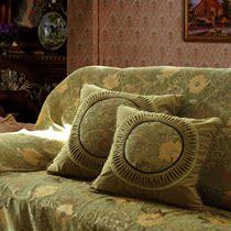 猛士美居&欧式风格&高档布艺&佛罗伦萨绿-2&方形抱枕皮 靠枕垫套 价格:176.00