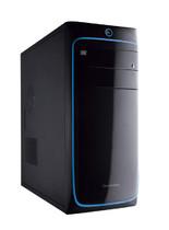 电脑机箱 主机  彩钢机箱 钢化侧板 散热性好 英士顿 3303蓝 价格:76.00