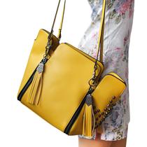 女包2013新款 包包 欧美风 鬼头流苏骷髅头 铆钉Chick女郎朋克包 价格:68.00