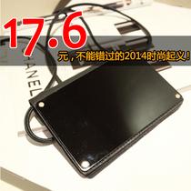 韩国镜子面mini斜跨复古小包亚克力iphone5三星单肩潮手机钱包邮 价格:17.60