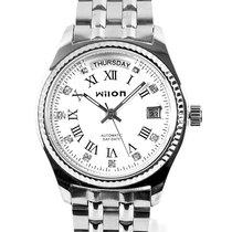 正品威龙双历全自动机械表 时尚镶钻男士手表 经典日历星期男表 价格:145.00