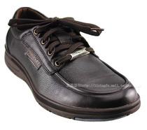 保罗盖帝男鞋正品 软皮休闲皮鞋 软皮软底 棕色男士皮鞋 清仓 价格:169.00