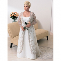 婚纱礼服 Floor-length Plus Size Wedding Dresses for Bride 价格:680.00