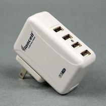 狮王四路USB输出 5V-2A电流iPAD PSP iPhone PDA充电器 移动电源 价格:32.00