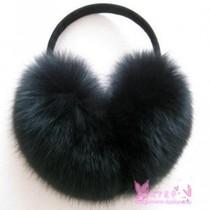 超大狐狸毛耳罩  毛毛耳包 皮草耳捂 冬季男女通用保暖耳套 价格:55.00