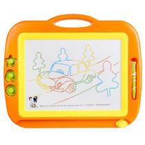 儿童画板写字板 超大号彩色磁性画板带印章 画画板涂鸦板宝宝玩具 价格:49.90