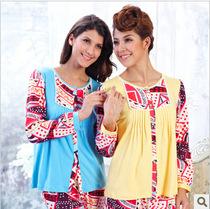 特价新品多拉美2012秋冬季新款 针织棉女士家居服睡衣套装CA32184 价格:120.00
