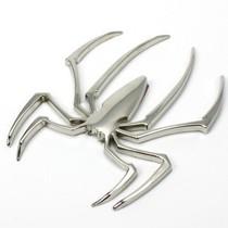 【驭车坊】3D立体蜘蛛壁虎车贴 双面M胶 壁虎全金属贴 汽车饰品 价格:3.80