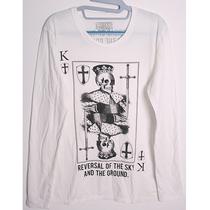 特价 日本原单 moussy副牌 TSC 骷髅印花 长袖T恤 价格:58.00