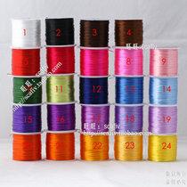 进口扁形水晶线佛珠弹力线松紧线diy手工编织手链串珠线绳子批发 价格:4.50