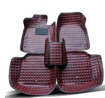 11-12-13款斯巴鲁傲虎 森林人专用大包围脚垫绣花 防滑皮革脚垫 价格:278.00