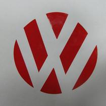 大众高尔夫6途观新polo波罗贴纸VW凹槽贴装饰贴车标贴纸改装车贴 价格:3.00