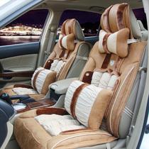 上汽华普海尚303305海域夏利N3羽绒棉新款冬季专用汽车坐垫座垫 价格:698.00
