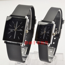 韩版高档情侣款时装男女表批发 2012新款休闲皮带手表22508387 价格:8.20