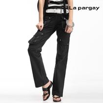 【秒杀】Lapargay纳帕佳正品时尚纯棉斜纹休闲长裤L63231 价格:99.00