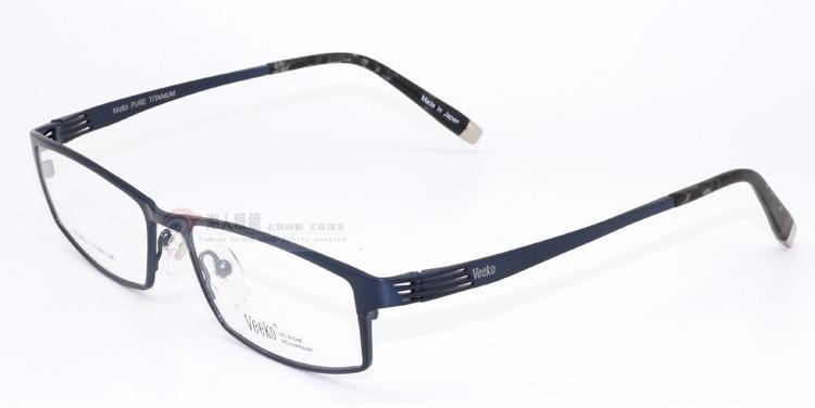 名镜坊 威高眼镜框 男款近视眼镜 VEEKO威高眼镜架3450 纯钛 全框 价格:508.00
