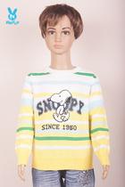 【3.5折清仓】史努比11春夏特价童装 针织衫 SS176907 黄 价格:90.00