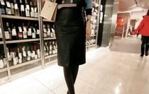 韩国代购正品partysu优雅名媛复古个性混搭包臀皮裙半身裙中裙 价格:62.50