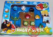 愤怒的小鸟玩具 10个公仔 全套人偶 加发射器 实战场景游戏 特价 价格:22.00