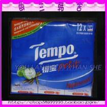 得宝Tempo迷你手帕纸/德宝纸巾 苹果木味 12包 价格:12.80