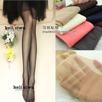 春夏透明彩色丝袜 糖果色打底袜女性感超薄连裤袜4双包邮 价格:10.00