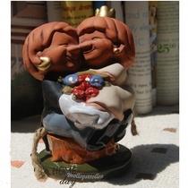 欧美原单 挪威森林精灵 幸福永远 红陶瓷摆设 结婚礼物 结婚礼品 价格:19.00