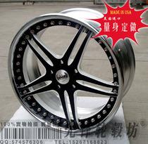 美国进口三片锻造轮毂 法拉利F430 599 612 阿斯顿马丁 改装轮毂 价格:6850.00