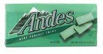 (好再澳门代购)安迪士 Andes �p薄荷巧克力132g 价格:25.00