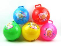 淘气堡 10寸喜羊羊\美羊羊图案充气球 玩具 波波球 儿童皮球 价格:6.00