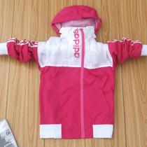 包邮正品阿迪达斯长袖上衣女装 2012秋装连帽外套 三条杠运动茄克 价格:125.00