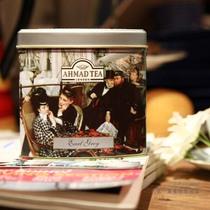 两罐包邮 AHMAD TEA英国亚曼精品伯爵英伦红茶100g铁罐礼品茶叶 价格:60.00