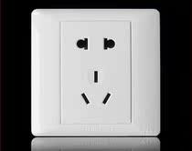 TCL开关插座 国际电工K4.0 五孔插座 二三插 一插一方 正品面板 价格:6.90
