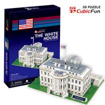 实体乐立方 C060H美国-白宫 3D立体拼图 DIY模型 男生礼物 包邮 价格:30.00