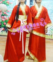 古装秀禾服礼服 橘子红了 正品秀禾套装 男女装搭配 中式婚礼 价格:350.00
