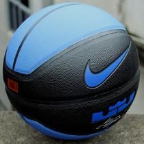 正品花式彩色街头NIKE耐克雷霆黑蓝篮球室外超耐磨软PU包邮买1送6 价格:73.00