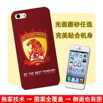 广州恒大 hengda 中超 冠军 iphone5/4/4s 手机壳保护套外壳 价格:39.00