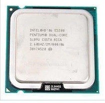 Intel奔腾双核E5300cpu正式版 价格:80.00