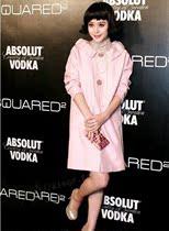国内现货prada普拉达大衣粉红女 范冰冰同款 长款风衣外套全新 价格:2284.80