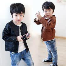 2013新款 男童外套春秋款儿童皮衣潮童装秋装2-3-4-5-6-7-8岁5F06 价格:99.00