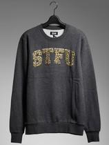 正品包邮izzue 豹纹字母卫衣 (男款) 价格:511.00