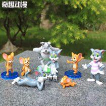 童年回忆 猫和老鼠 可爱的汤姆和杰瑞 8款公仔玩偶玩具 动漫公仔 价格:46.00