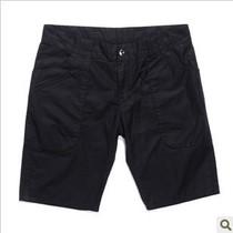 mark fairwhale马克华菲男夏裤薄款 工装休闲黑色短裤7112063221 价格:99.00