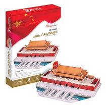 乐立方3d立体拼图 建筑拼装模型 儿童益智玩具diy小屋 北京天安门 价格:88.00