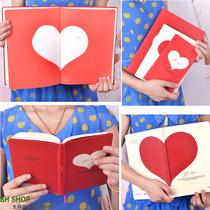 Lianhua/联华FOR LOVE 硬抄本 情侣日记本 笔记本4款可选多种内页 价格:12.60